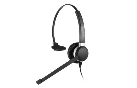 ADDASOUND Crystal 2801 Monaural Headset - Headset World USA - Your Headset Solutions