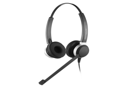 ADDASOUND Crystal 2802 Binaural Noise Canceling Headset