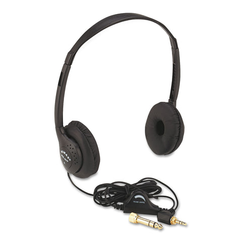 Amplivox SL1006 Stereo Headphone w/volume control - Headset World USA - Your Headset Solutions