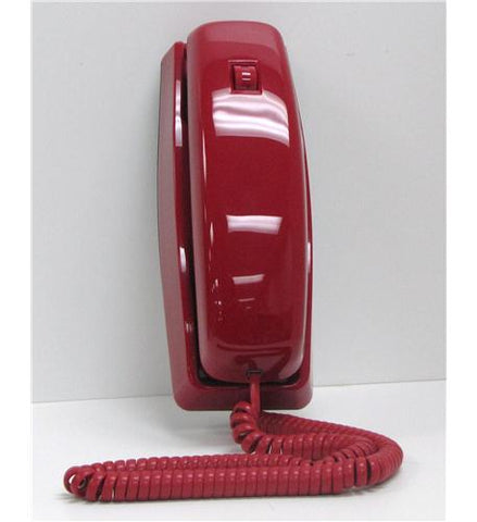 Cortelco Trendline Red Corded Telephone ITT-8150 - Headset World USA - Your Headset Solutions