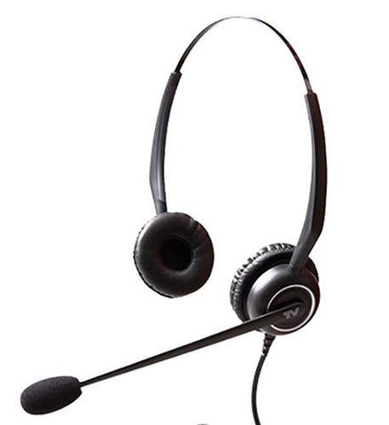 Cortelco VT5000-UNC-D Binaural Headset - Headset World USA - Your Headset Solutions