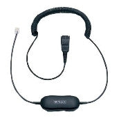 Jabra GN1200 Universal Smart Cord for Jabra QD Headsets 88001-99 - Headset World USA - Your Headset Solutions