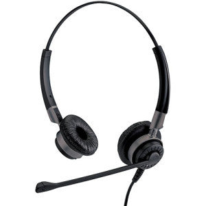 IPN Emotion H750 Binaural Headset w/Bottom RJ11 cord included - Headset World USA - Your Headset Solutions