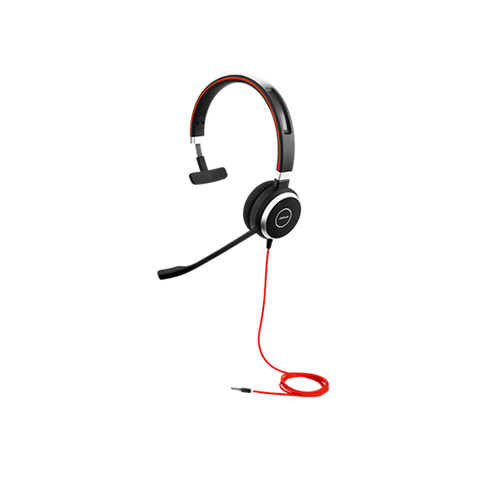 14401-09 Jabra Evolve 40 MONO Replacement Headset ONLY - Headset World USA - Your Headset Solutions