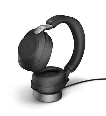 Jabra Evolve2 85 MS BT Headset, USB-A, w/Charging Stand 28599-999-989