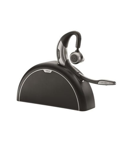 Jabra Motion UC Plus Bluetooth Headset for Lync w/Charging Base & Travel Kit  6640-906-305 - Headset World USA - Your Headset Solutions