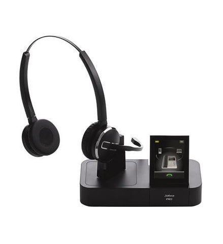 GN Netcom/Jabra Pro 9465 Duo Wireless Headset 9465-69-804-105 - Headset World USA - Your Headset Solutions