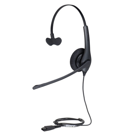 Jabra Biz 1500 Monaural QD Headset 1513-0157 - Headset World USA - Your Headset Solutions