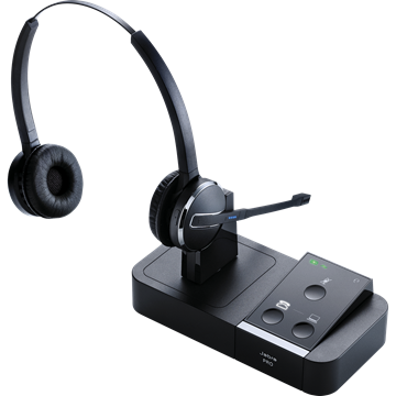 Jabra Pro 9450 DUO Wireless 9450-69-707-105 - Headset World USA - Your Headset Solutions