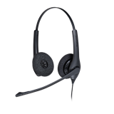 Jabra Biz 1500 DUO QD Headset 1519-0157 - Headset World USA - Your Headset Solutions
