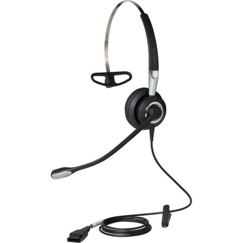 Jabra Biz 2400 II Mono 3-in-1 Noise Canceling Headset 2406-820-205 - Headset World USA - Your Headset Solutions