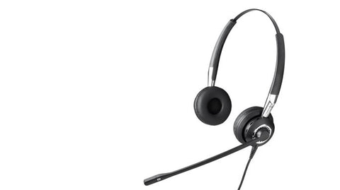 Jabra Biz 2400 Duo Ultra Noise Canceling Headset 2409-700-105