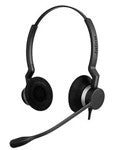 Jabra Biz 2300 QD Duo Headset 2309-820-105 - CONTACT US FOR SPECIAL PRICING OFFERS! - Headset World USA - Your Headset Solutions
