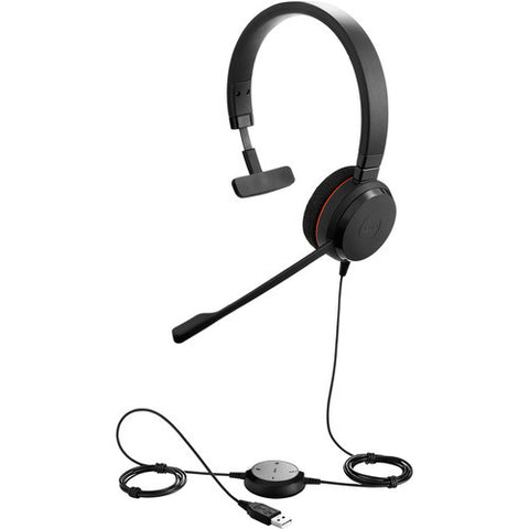 Jabra EVOLVE 20 MS Monaural USB Headset 4993-823-109