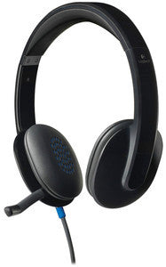 Logitech H540 USB Headset 981-000510 - Headset World USA - Your Headset Solutions