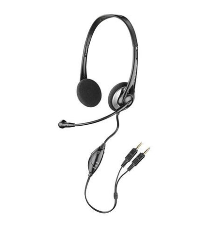 Plantronics Audio 326 Stereo PC Headset  80933-11 - DISCONTINUED - Headset World USA - Your Headset Solutions