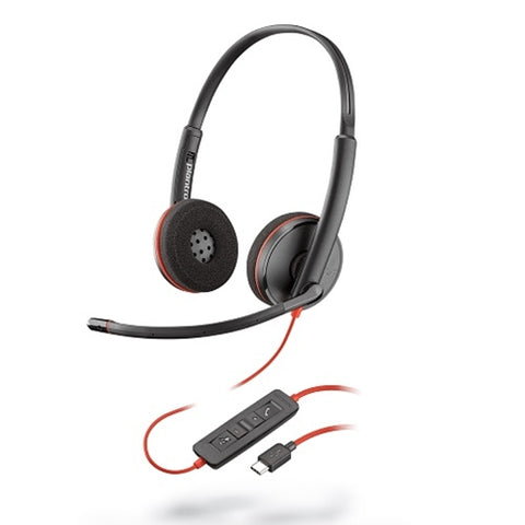 PLANTRONICS BLACKWIRE C3220 HEADSET  209745-101 - Headset World USA - Your Headset Solutions