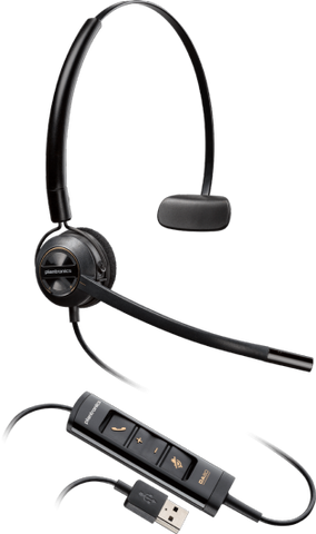 Plantronics ENCOREPRO HW545 Convertible USB Headset 203474-01