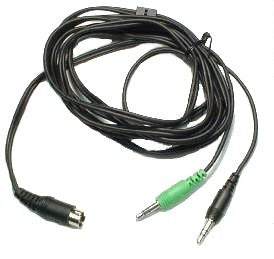 Plantronics Audio Device Cable for MX10 Amplifiers 44877-02 - Headset World USA - Your Headset Solutions