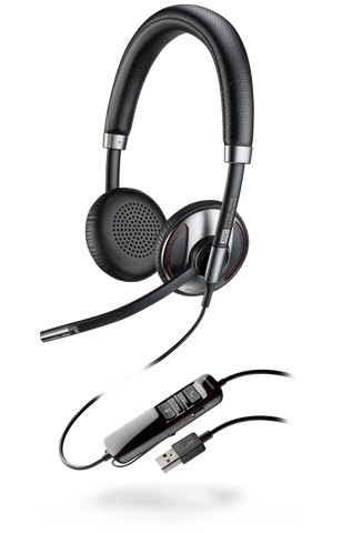 Plantronics Blackwire C725-M USB UC Headset 202581-01 - Headset World USA - Your Headset Solutions