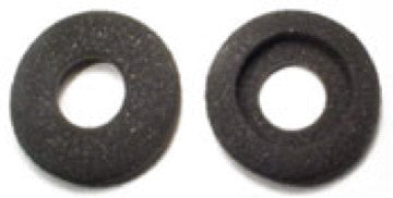 Gray Foam Headset ear pads with center hole