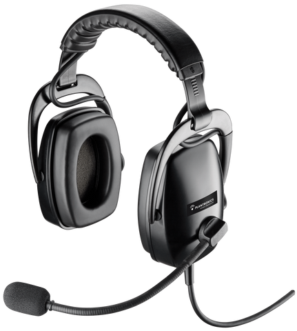 Plantronics SHR2083-01 Binaural Heavy Duty H-Series Headset 92083-01
