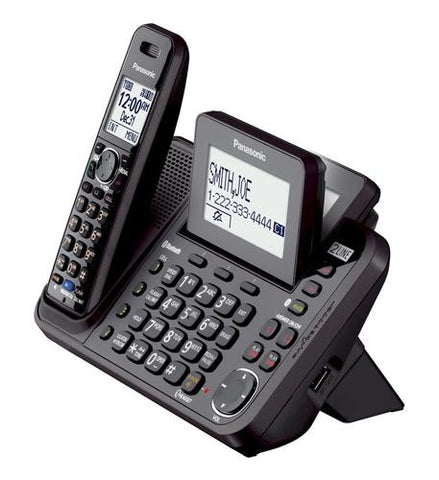 Panasonic Kx Tg9541b Link2cell 2 Line Cordless Phone 1 Handset Headset World Usa Your Headset Solutions