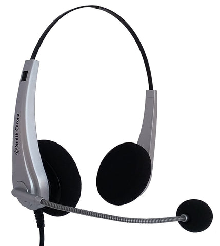 Smith Corona Aries Plus Binaural Headset P13042