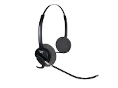 Smith Corona Aries Binaural Voice Tube Headset P13050