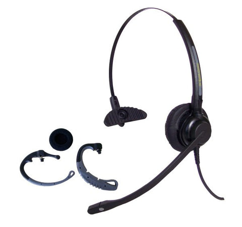 Smith Corona Classic Convertible Headset w/Plantronics compatible QD and Cisco Cord