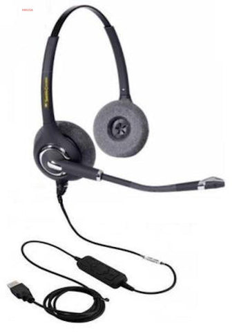 Smith Corona Ultra pro Binaural USB Headset P14767