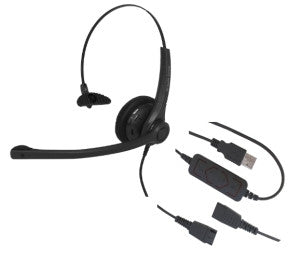Smith Corona Voicelync Monaural USB Headset P14470