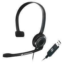 Sennheiser PC7 Monaural USB Headset 504196
