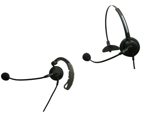 Starkey S134-CON-PL Convertible Headset w/ Plantronics compatible QD