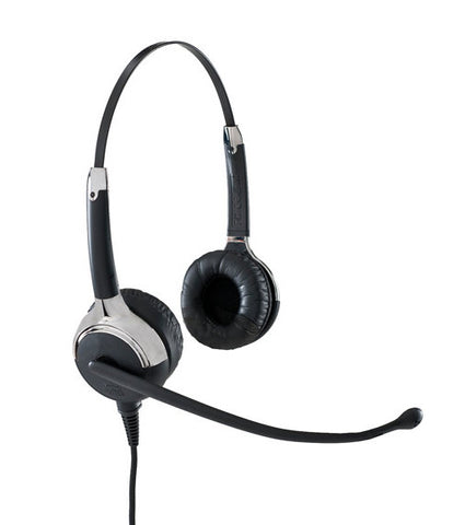VXI Proset 21G Binaural Headset with QD 1026G cord for Direct Connection to some phones