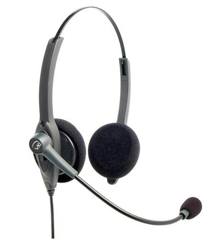VXI Passport 21P Binaural Headset - with PLT QD 202780