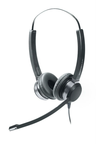 ADDASOUND Crystal 2822 Binaural Headset - Headset World USA - Your Headset Solutions