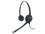 Smith Corona Ultra Binaural Headset with Plantronics QD & Cisco Cord