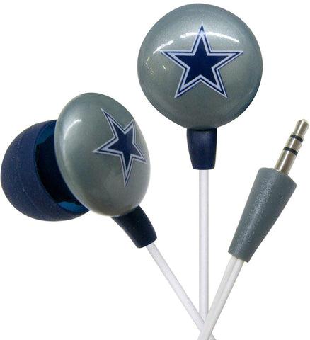 NFL Dallas Cowboys Noise Isolating Earphones - Headset World USA - Your Headset Solutions