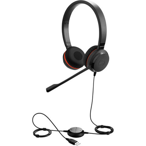 Jabra EVOLVE 30 MS Stereo DUO Headset 5399-823-309 - CONTACT US FOR SPECIAL PRICING OFFERS! - Headset World USA - Your Headset Solutions