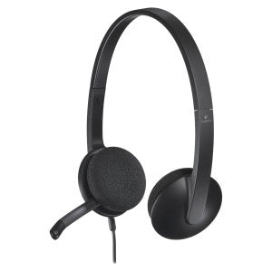 Logitech H340 Binaural USB Headset 981-000507 - Headset World USA - Your Headset Solutions