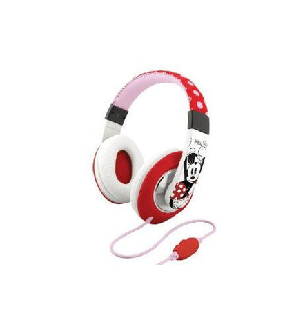Minnie Mouse Over the Ear Headphones EK-DM-M40 - Headset World USA - Your Headset Solutions
