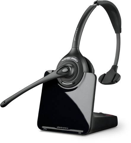 Plantronics CS510-XD Monaural Wireless Headset 88284-01 - Headset World USA - Your Headset Solutions