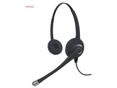 Smith Corona Ultra Binaural Headset w/USB Cord