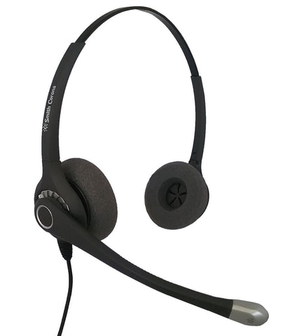Smith Corona Ultra DUO USB Headset for Computer use via USB - NO QD