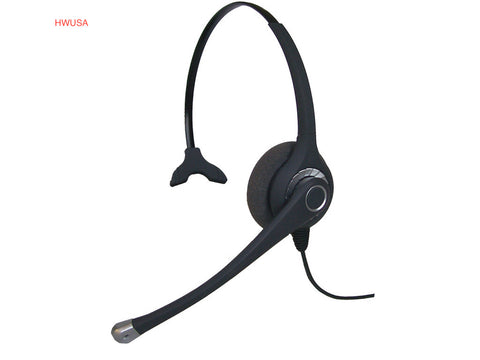 Smith Corona Ultra Monaural Headset w/USB Cord