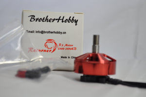 Brotherhobby Returner R5 2306 2450kv Cherry Red Brushless Motor