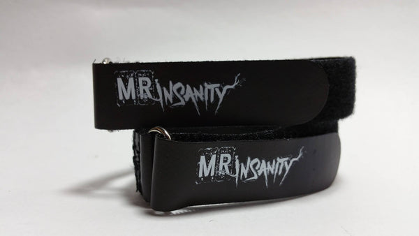 MR Insanity Battery & Camera Straps (LARGE) 2pk
