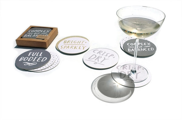 Wine Notes Coasters - Juniper & Scout