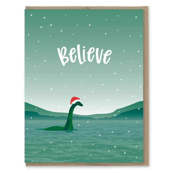 Nessie Believe Holiday Card - Juniper & Scout
